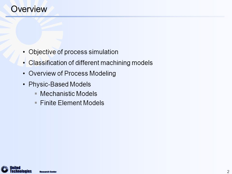 13 Mechanistic Modeling Prediction of the tool deflection Edge definition in space