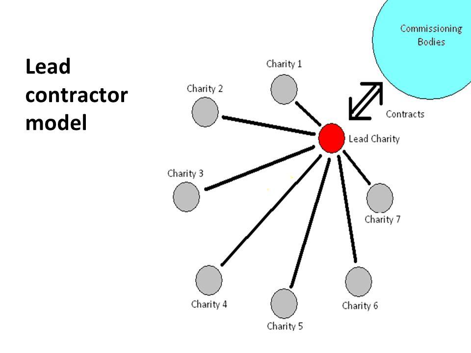 Lead contractor model