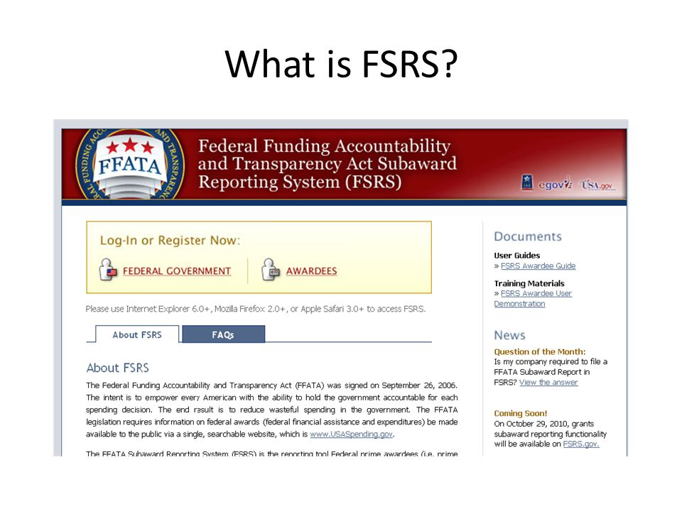 What is FSRS