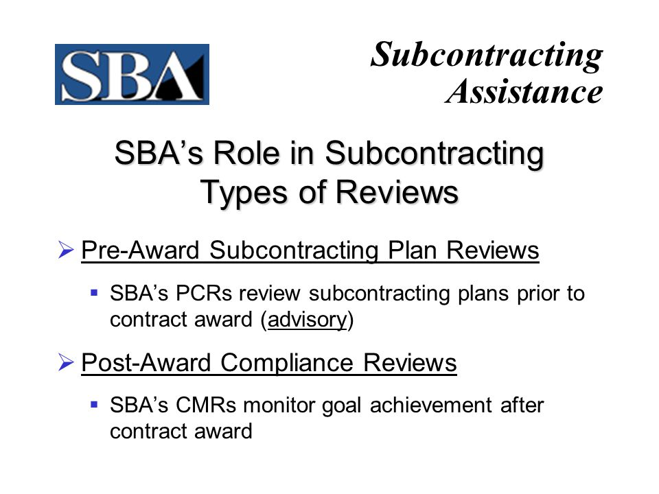 20 Certificates of Competency When determined to be non-responsible, a small business is entitled to an independent review by the SBA.