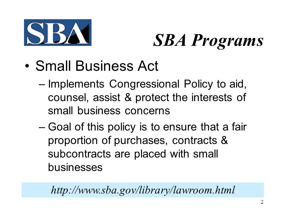 12 What PCRs Do  Attend Training Events  Promote SBA Programs  Mediate SB Issues  Monitor Public Notices  Counsel small & 'other than small' businesses, Federal Agencies