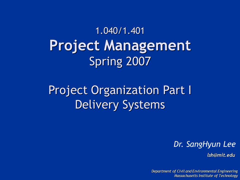 CM Oversight Design/Build (CM Provides Agency Oversight on Owner's Behalf) OWNER DESIGN/BUILD CONTRACTOR CM SUB- CONTRACTOR SUB- CONTRACTOR SUB- CONTRACTOR SUB- CONTRACTOR Source: Potter, 1995