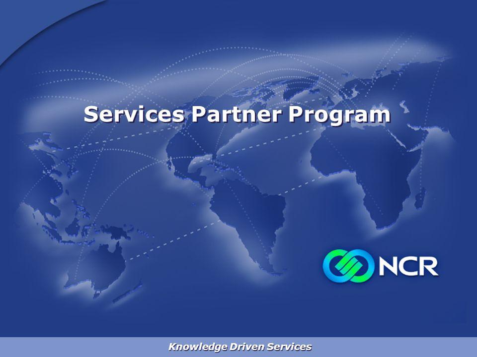 Knowledge Driven Services Services Partner Program