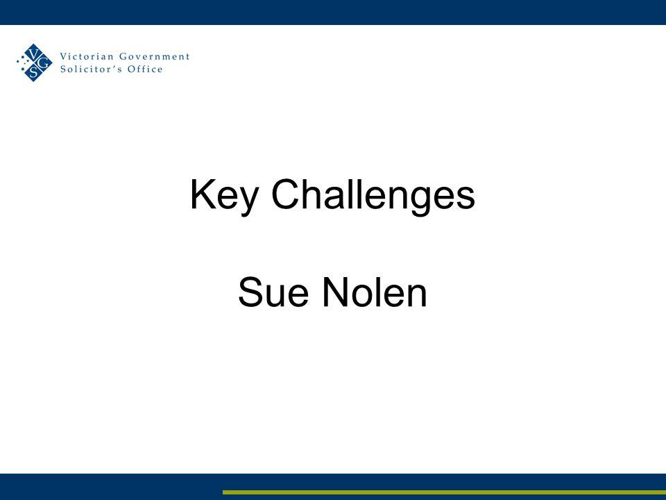 Key Challenges Sue Nolen