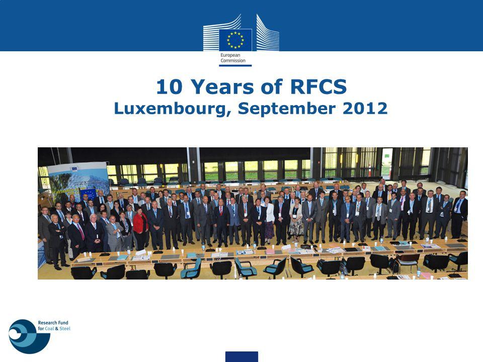 1.RFCS: history, activities, benefits 2. RFCS vs Framework Programmes 3.