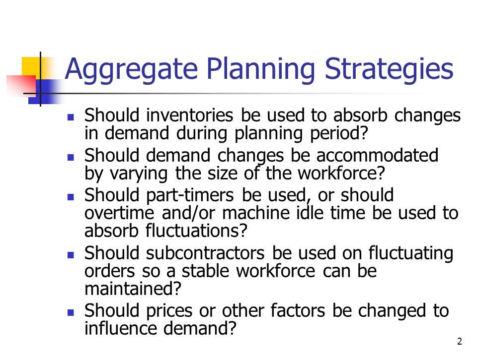 13 Step 2. Graph Cumulative Net Demand to Find Plans Graphically Cum. Net Demand