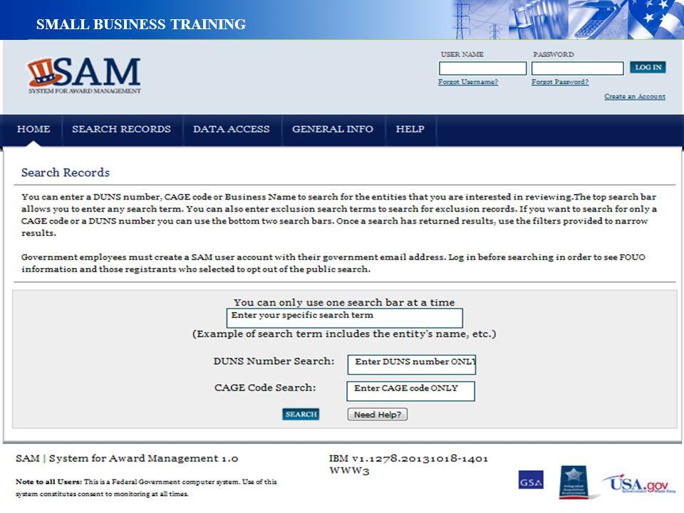 19 SMALL BUSINESS TRAINING