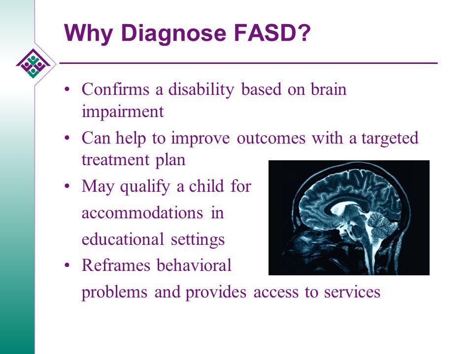 Why Diagnose FASD.