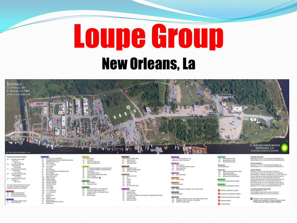 Past Performance Quality of Service, Timeliness of Performance and Business Relations Loupe Construction has a senior management team that is second to none in its experience and expertise in General Contracting, debris collection, reduction and disposal operations.
