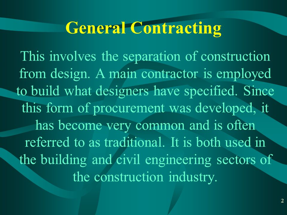 3 A subcontractor is an individual or in many cases a business that signs a contract to perform part or all of the obligations of another s contract.