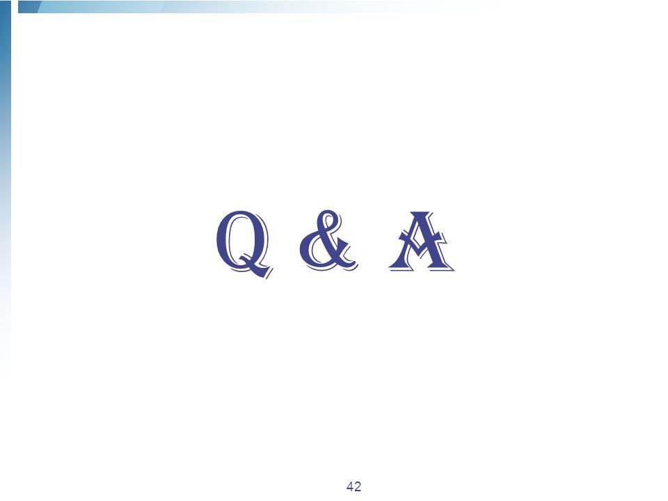 42 Q & A