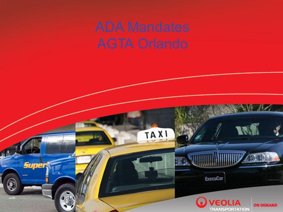 ADA Mandates AGTA Orlando