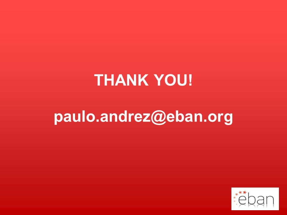 THANK YOU! paulo.andrez@eban.org Your Logo
