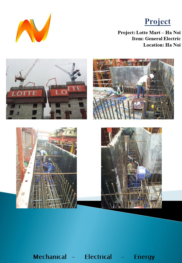 Project: Lotte Mart – Ha Noi Item: General Electric Location: Ha Noi Mechanical - Electrical - Energy