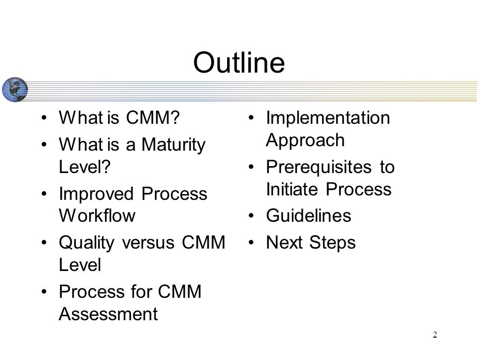 3 What EXACTLY is Software CMM.