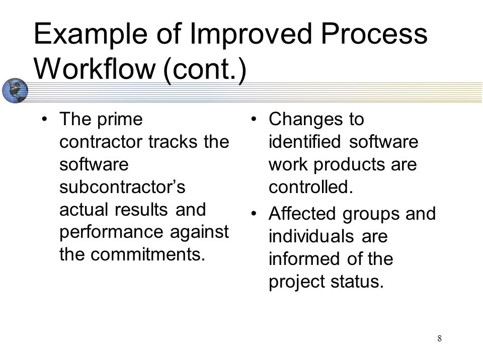 9 Quantifiable Benefits Cost of development goes down Better level of control on project changes Project metrics at enterprise level controls impact of change Process consistency across all agencies allows benchmarking and best practices to be shared at the enterprise level Reduced time to market has a positive impact on business and IT