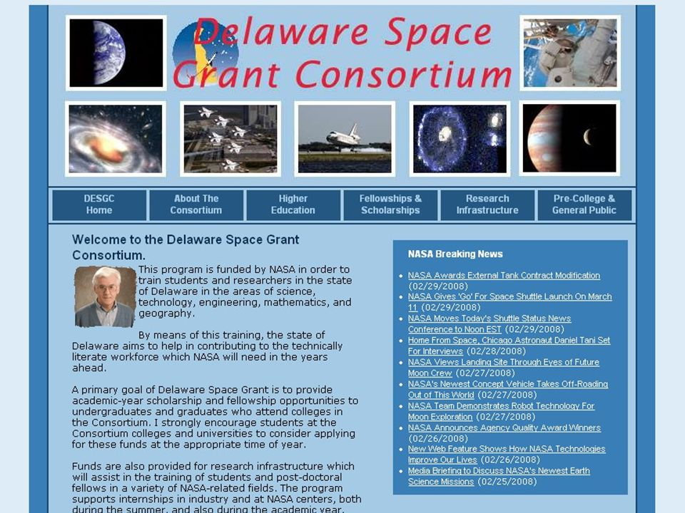 www.spacegrant.org October 2008