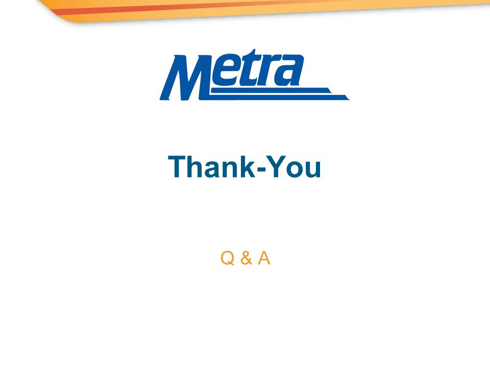 Thank-You Q & A
