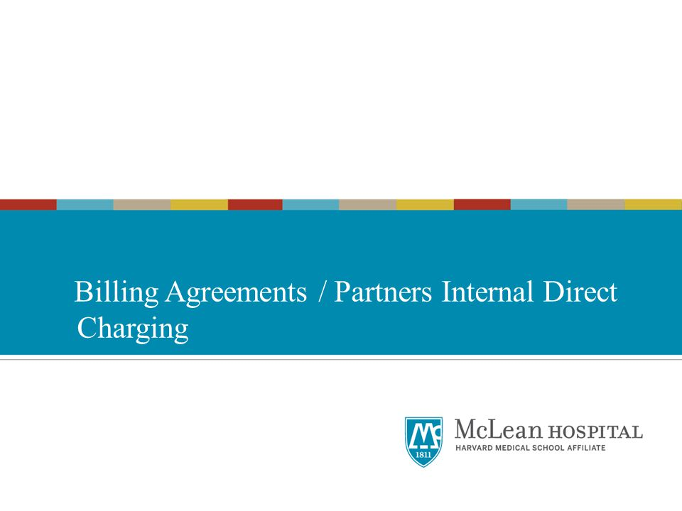 Billing Agreements / Partners Internal Direct Charging