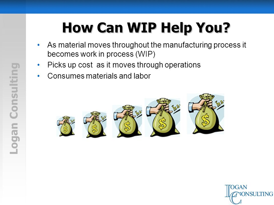 Logan Consulting How Can WIP Help You.