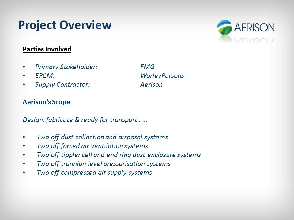Project Summary Schedule