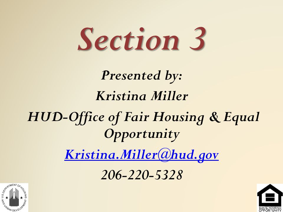 What is Section 3.