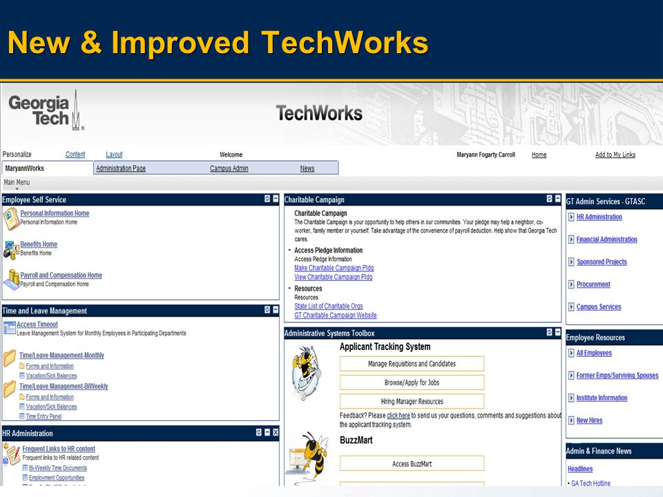 42 11 th Birthday And the survey says… New & Improved TechWorks