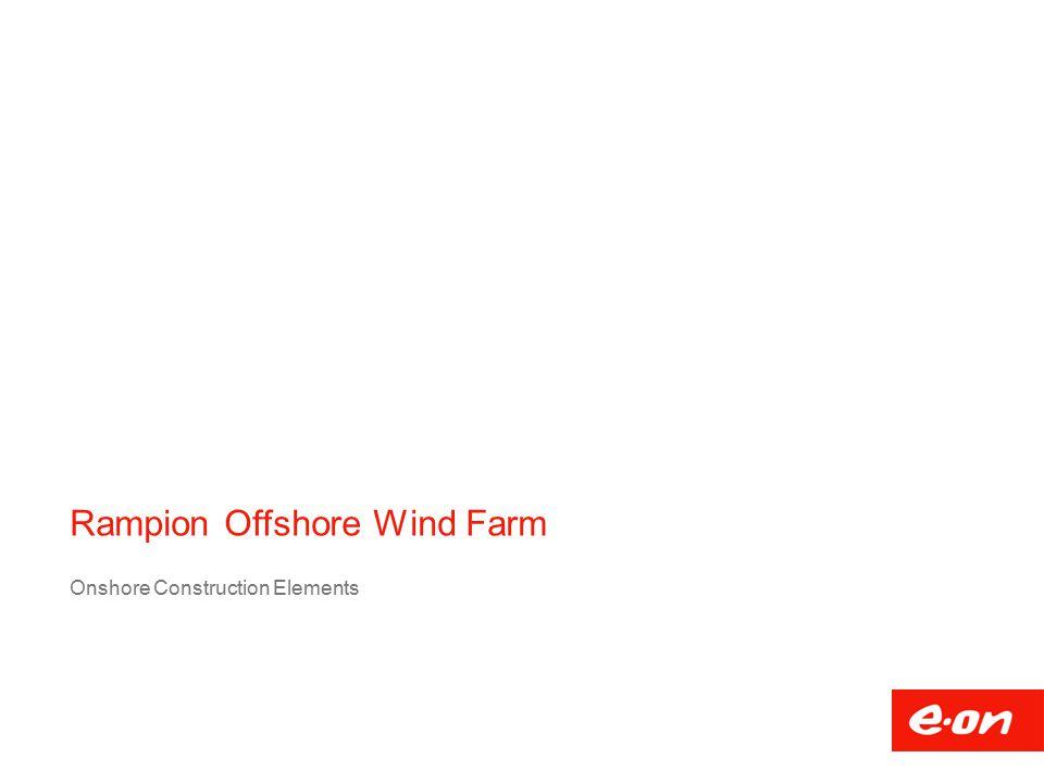 Rampion Offshore Wind Farm Onshore Construction Elements