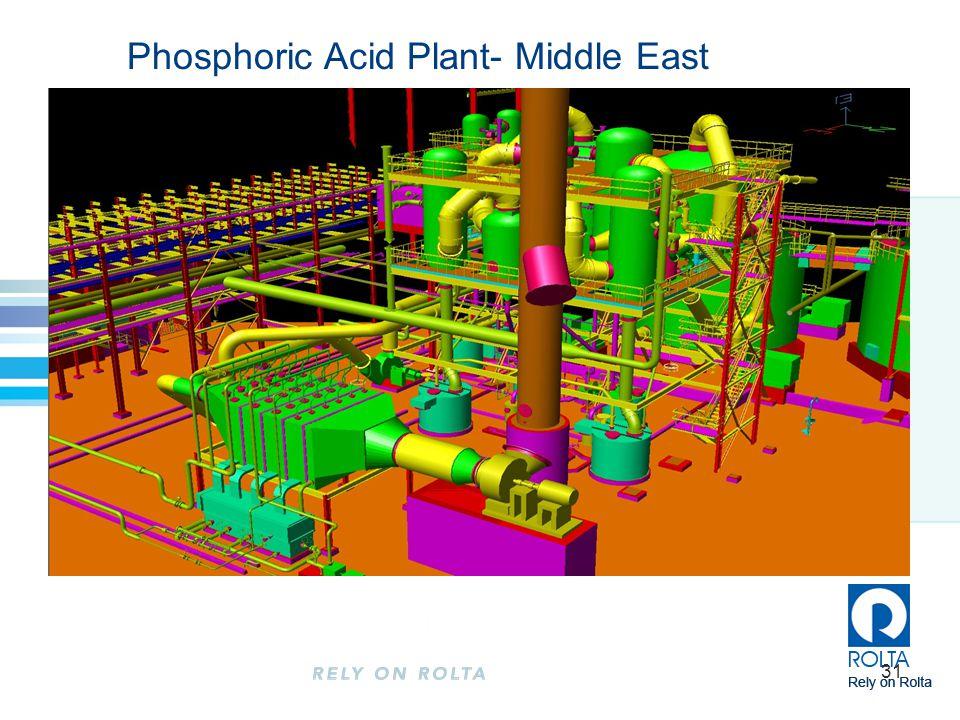 31 Phosphoric Acid Plant- Middle East