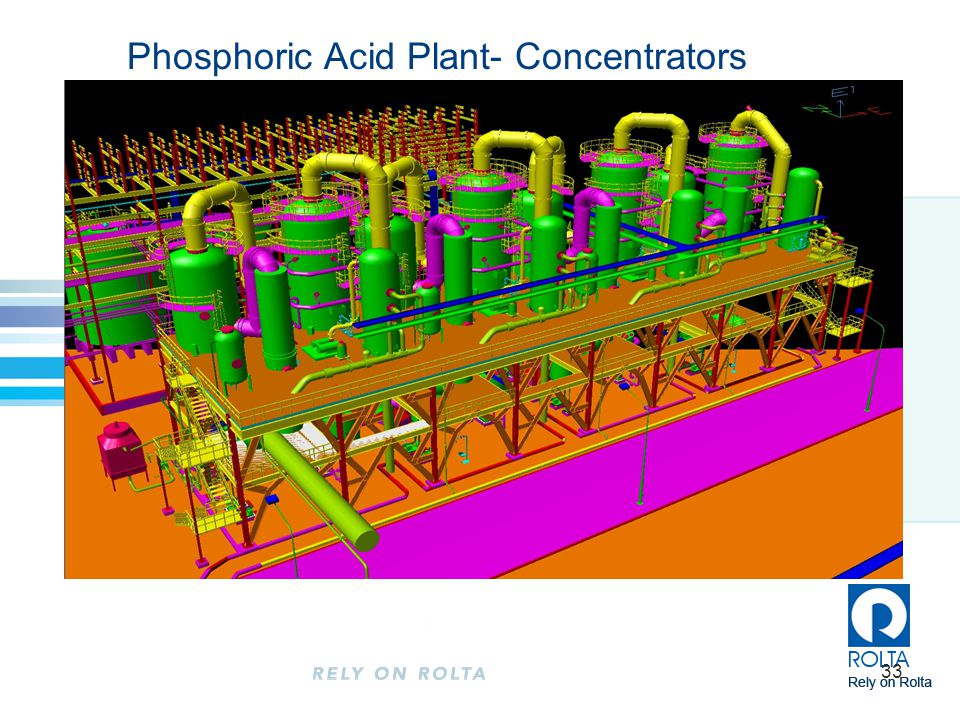 33 Phosphoric Acid Plant- Concentrators