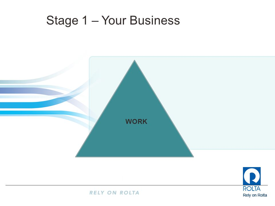 WORK Stage 1 – Your Business