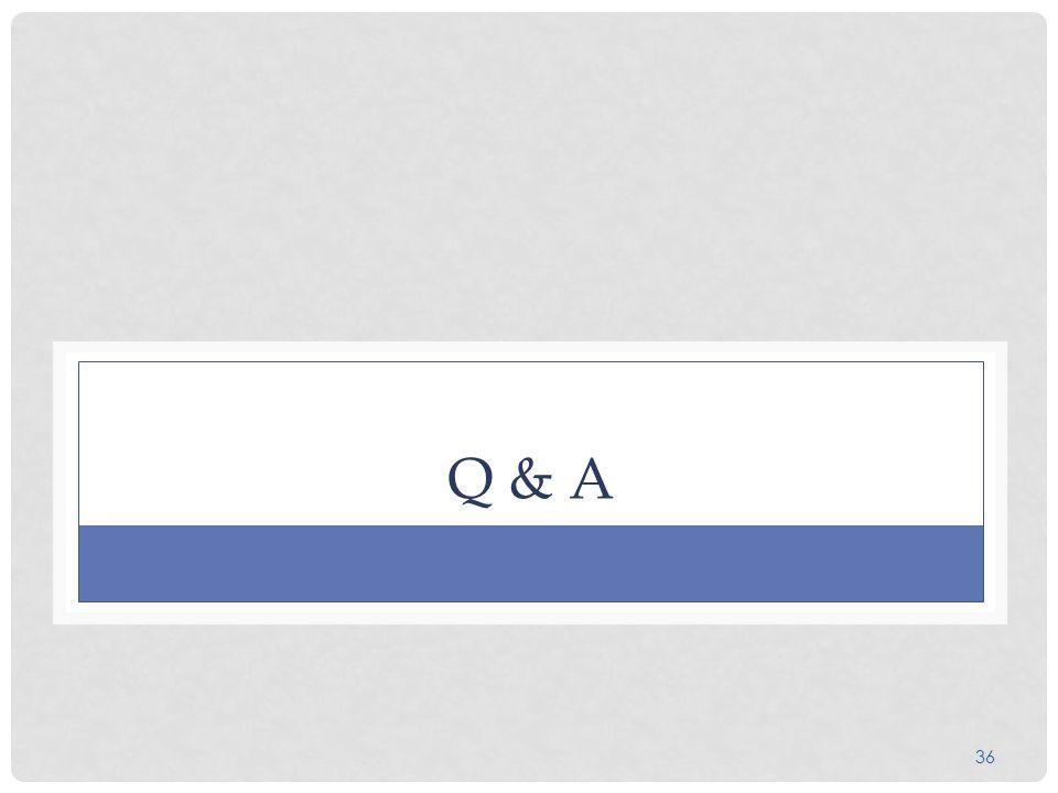 36 Q & A