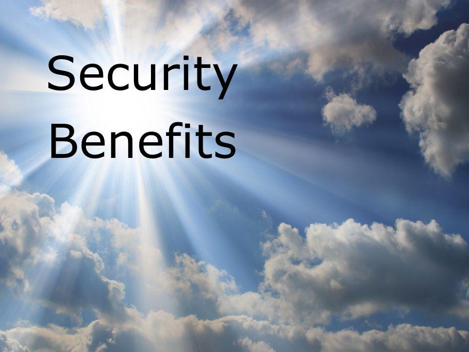 www.enisa.europa.eu 7 Security Benefits
