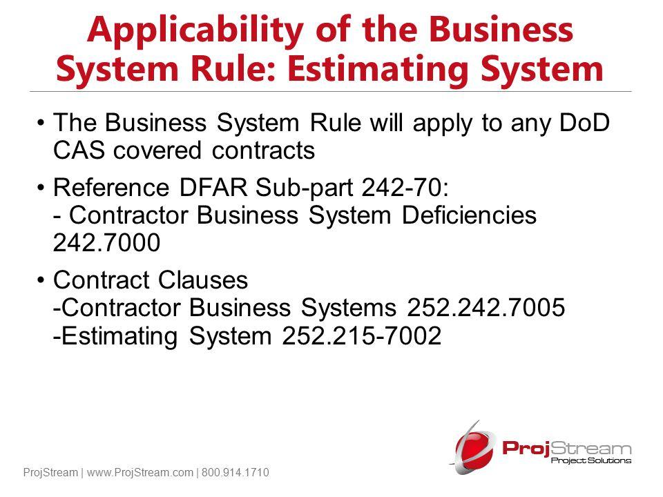 ProjStream | www.ProjStream.com | 800.914.1710 Basis of Estimate Example: Basis of Quantities