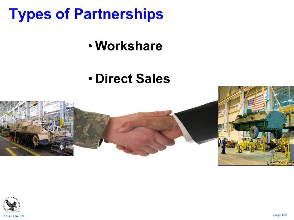 2014 LOA PBL Page 100 Workshare Direct Sales