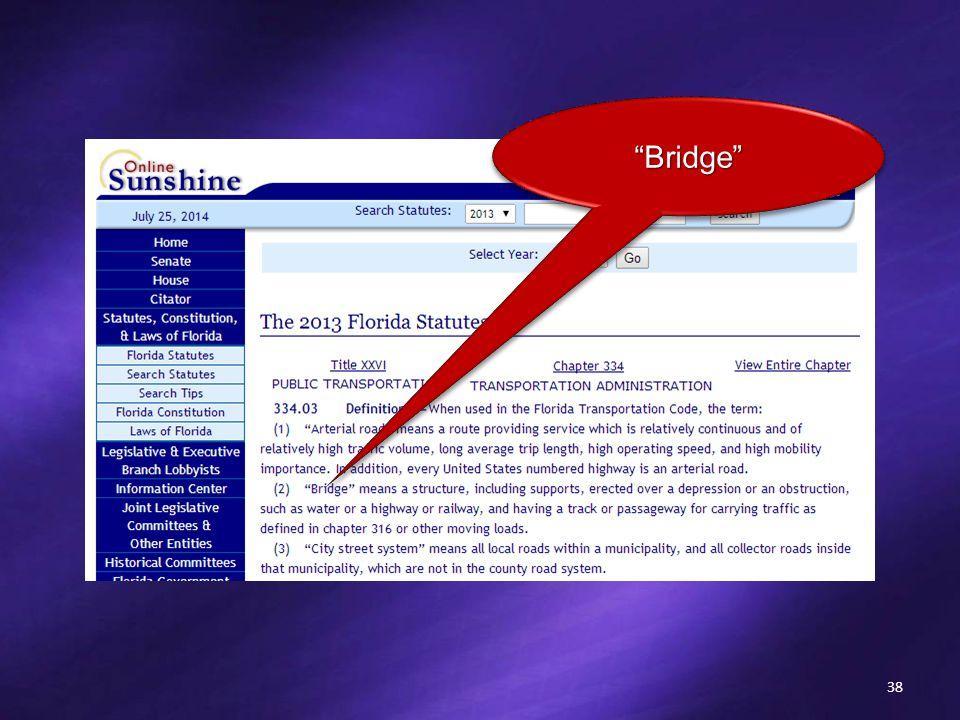 38 Bridge Bridge