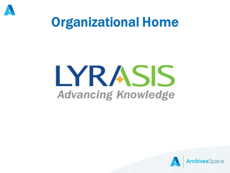 Organizational Home