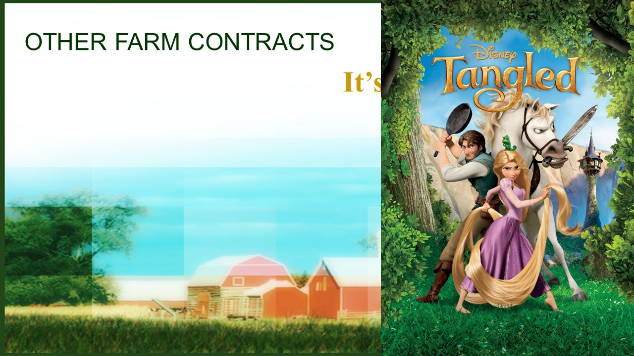OTHER FARM CONTRACTS It's