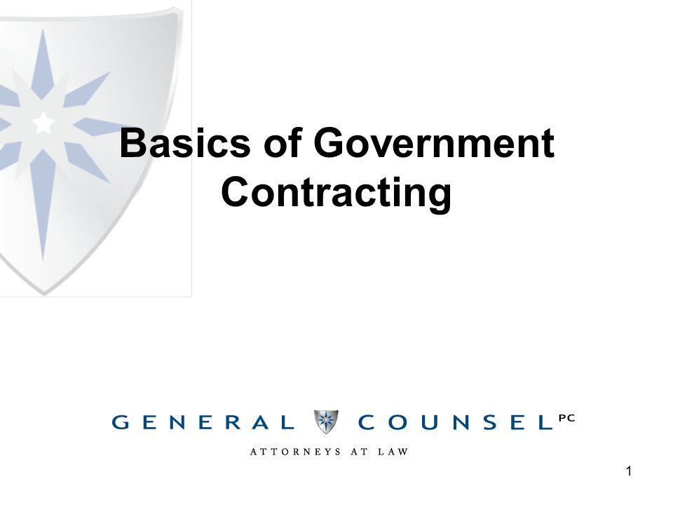 Federal Procurement Background The U.S.