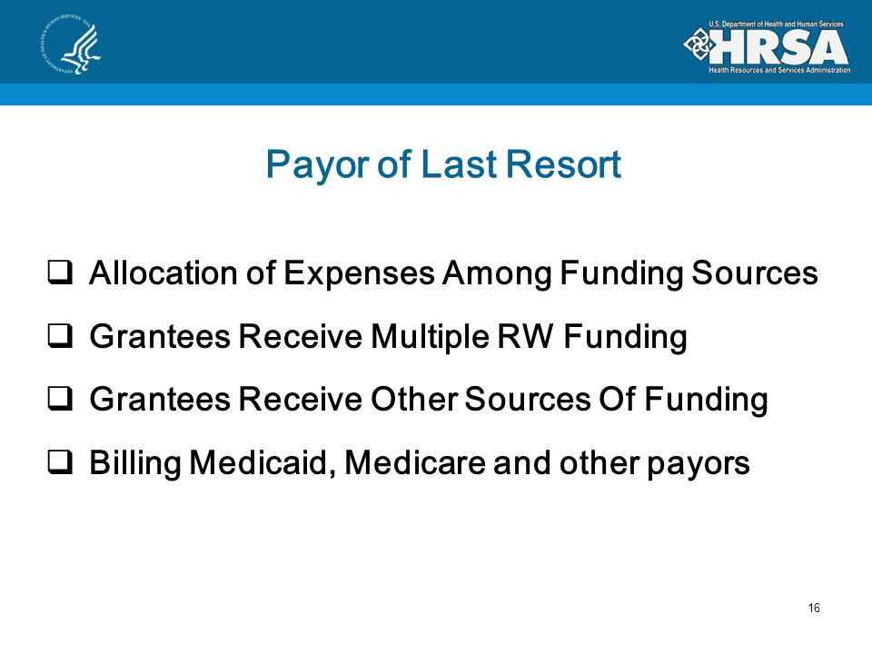 Part C Fiscal Requirements 1. Payor of Last Resort 2.