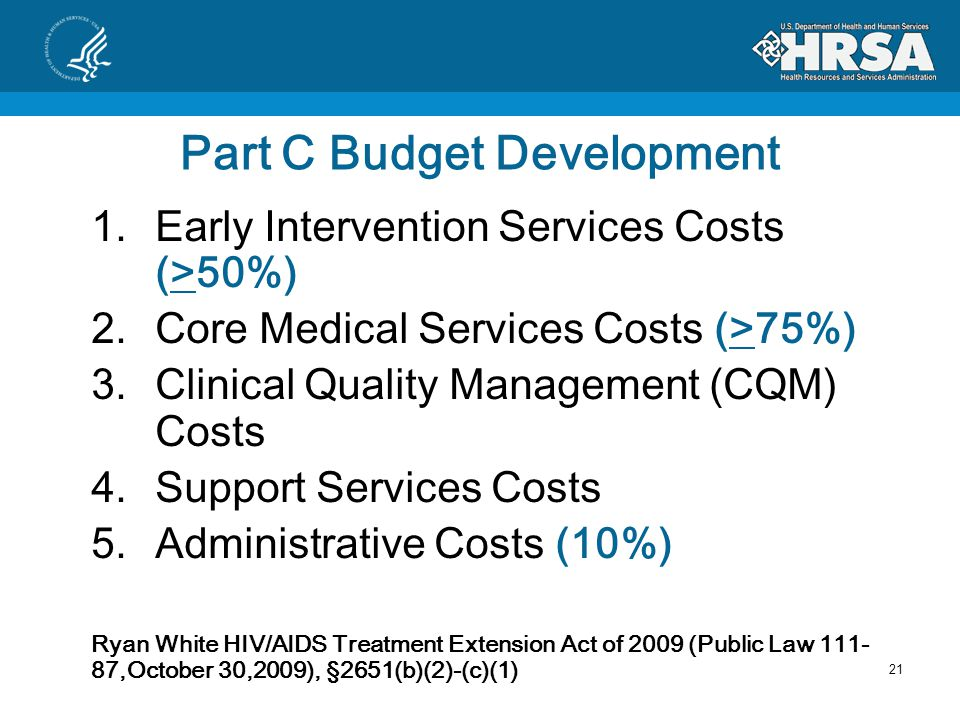 Limitations on Administrative Costs Administration versus Indirect Direct Program Costs Costs must be tied to the delivery of services Hidden Administrative Costs – Rent, Etc.