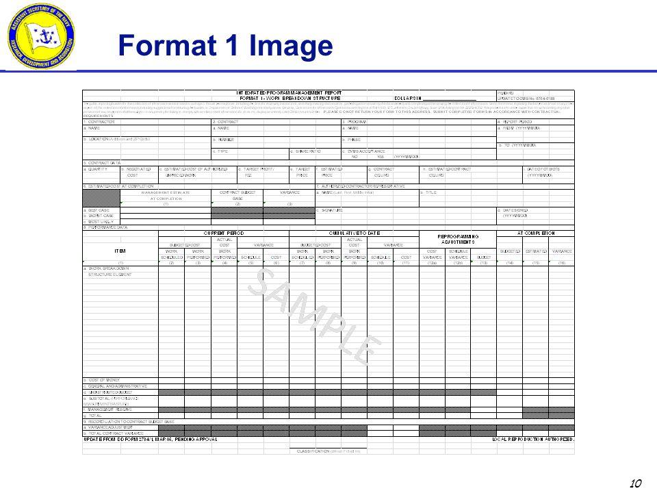 10 Format 1 Image