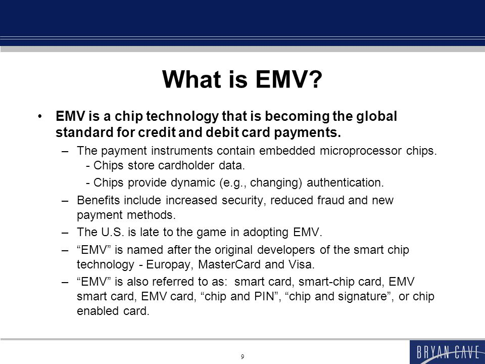How are EMV Cards Different.Why are EMV cards more secure than traditional cards.