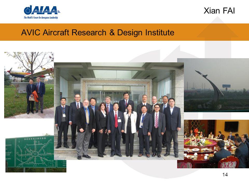 AVIC Aircraft Research & Design Institute 14 Xian FAI