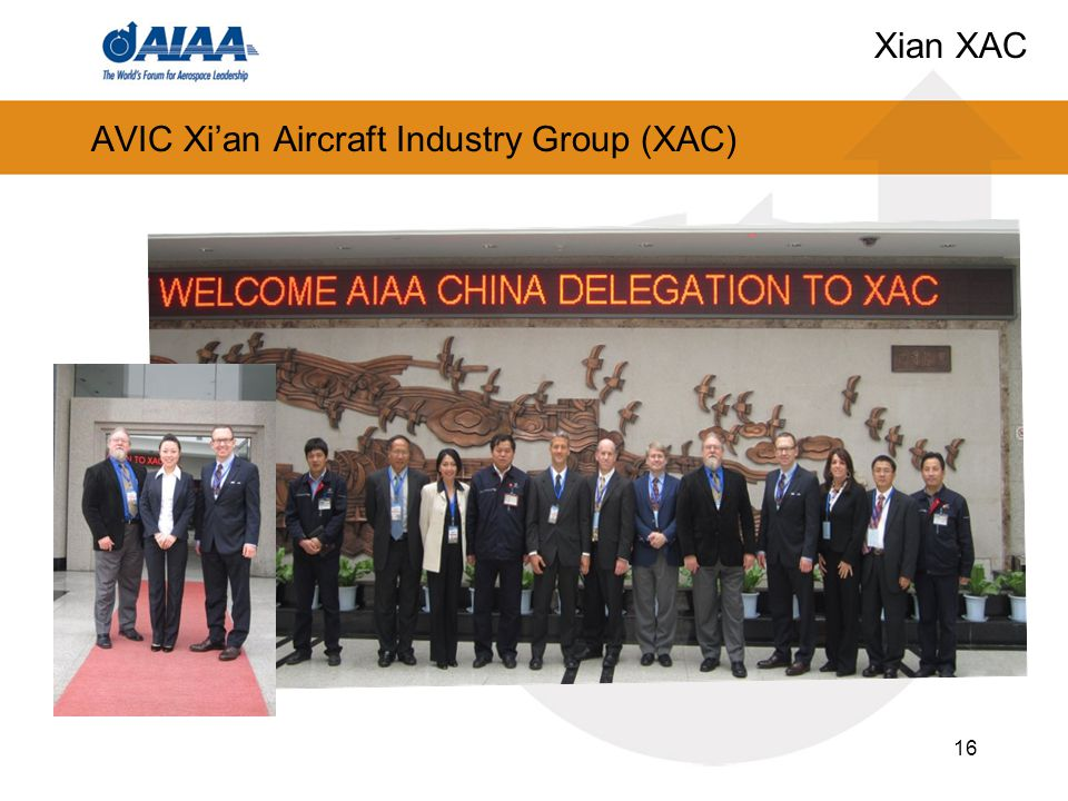 AVIC Xi'an Aircraft Industry Group (XAC) 16 Xian XAC