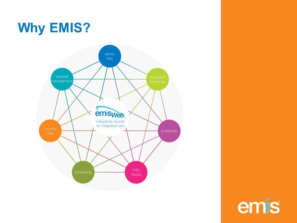 Why EMIS?