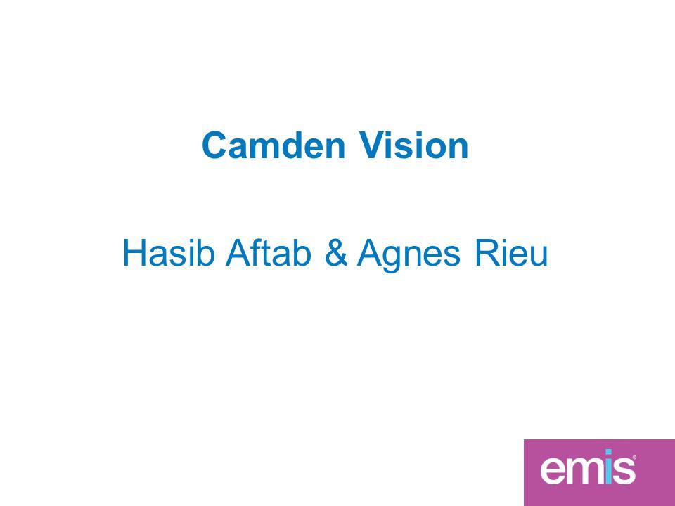 Camden Vision Hasib Aftab & Agnes Rieu