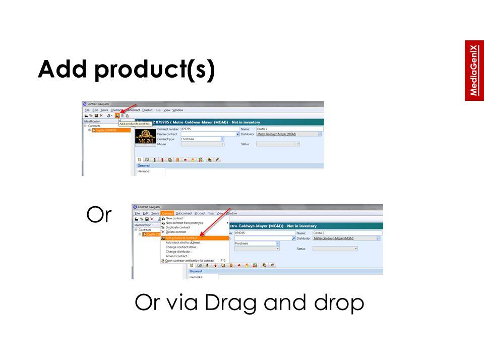 Costs tab » Enter a new cost description