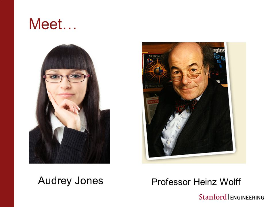 Meet… Audrey Jones Professor Heinz Wolff