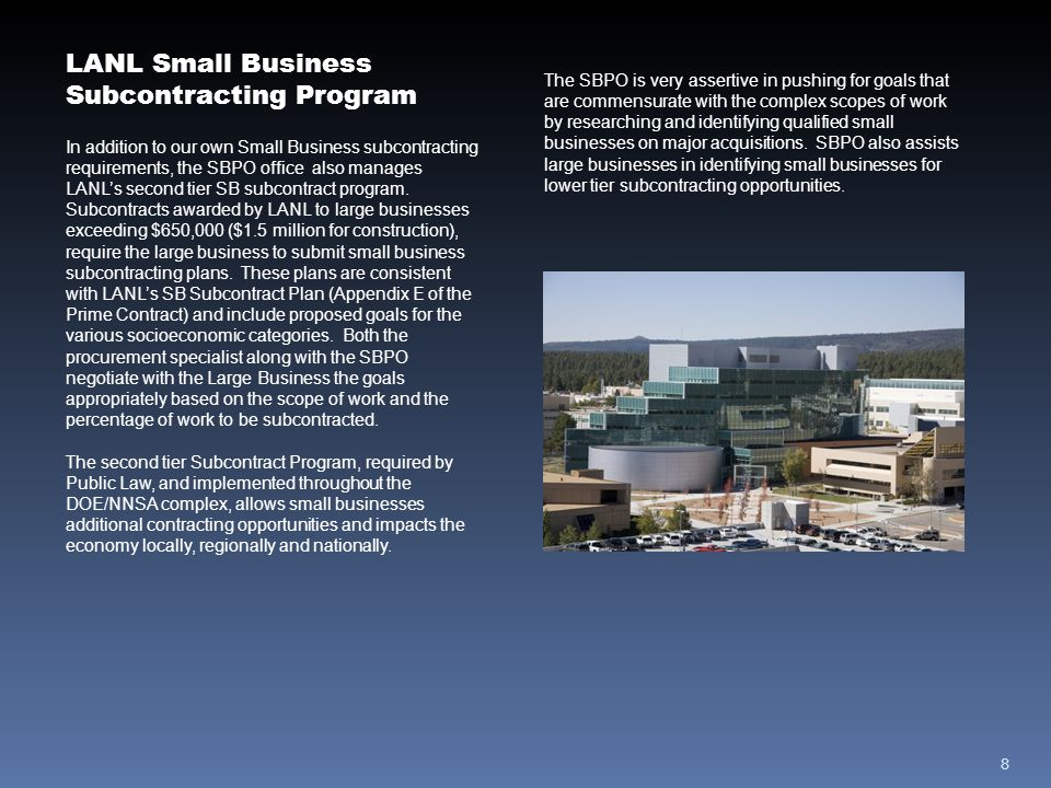 9 New Mexico Small Business Assistance Program recognized by U.S.